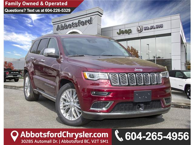 2018 Jeep Grand Cherokee Summit (Stk: J192733) in Abbotsford - Image 1 of 28