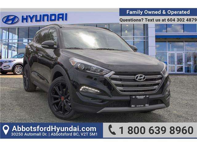 2018 Hyundai Tucson Noir 1.6T (Stk: JT722928) in Abbotsford - Image 1 of 28