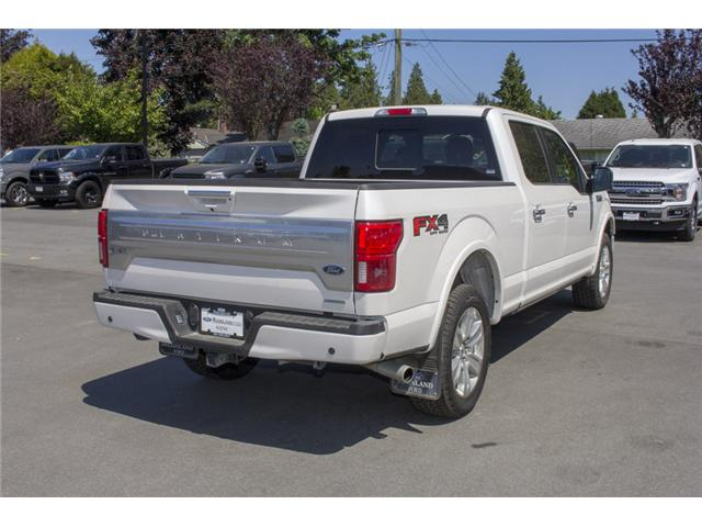 2018 Ford F-150 Platinum (Stk: 8F16099) in Surrey - Image 7 of 30