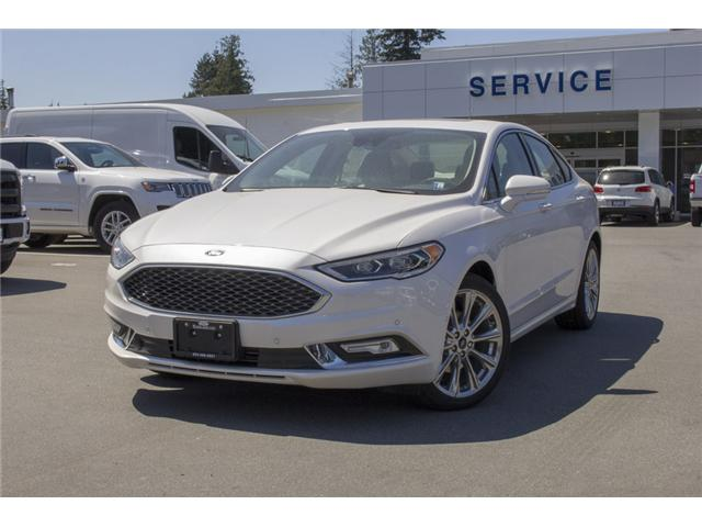 2018 Ford Fusion Platinum (Stk: 8FU2240) in Surrey - Image 3 of 26
