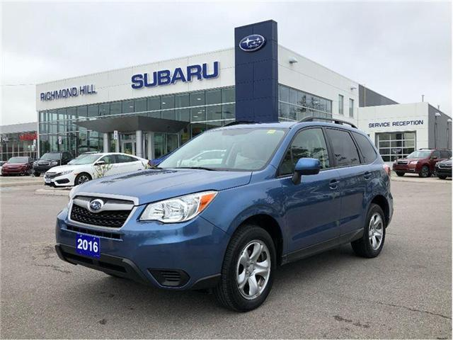 2016 Subaru Forester 2.5i (Stk: LP0148) in RICHMOND HILL - Image 1 of 19