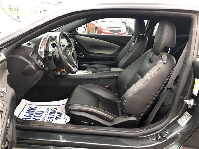 2015 Chevrolet Camaro LT|RS|SUNROOF|ONE OWNER| (Stk: 145078A) in BRAMPTON - Image 11 of 17