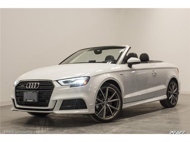 2018 Audi A3 2.0T Technik (Stk: T14846) in Vaughan - Image 1 of 8