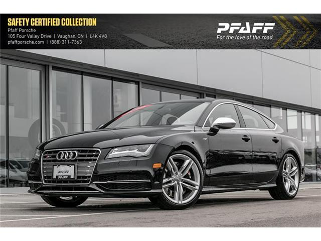 2014 Audi S7 4.0 7sp S tronic (Stk: U7124) in Vaughan - Image 1 of 21