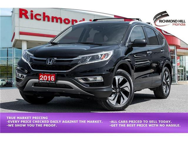 2016 Honda CR-V Touring (Stk: 1992P) in Richmond Hill - Image 1 of 21