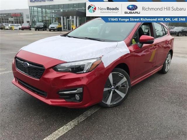 2018 Subaru Impreza Sport-tech (Stk: 30572) in RICHMOND HILL - Image 1 of 19