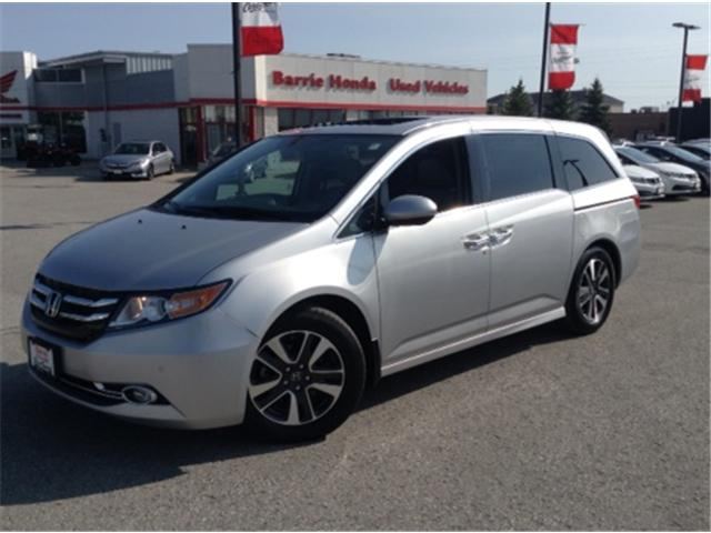 2015 Honda Odyssey Touring (Stk: U15429) in Barrie - Image 1 of 20