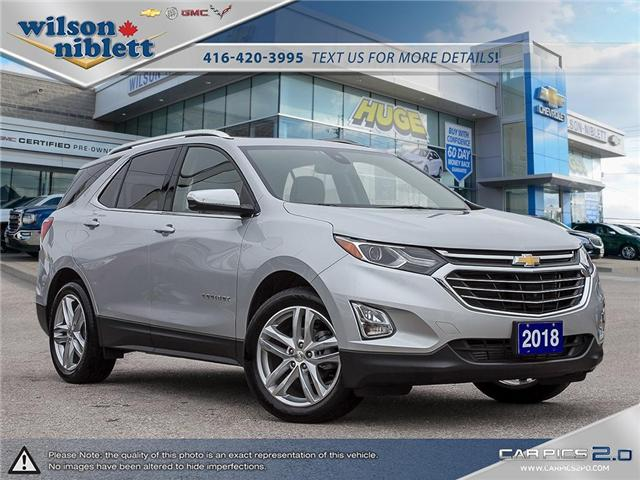 2018 Chevrolet Equinox Premier (Stk: P100026) in Richmond Hill - Image 1 of 29