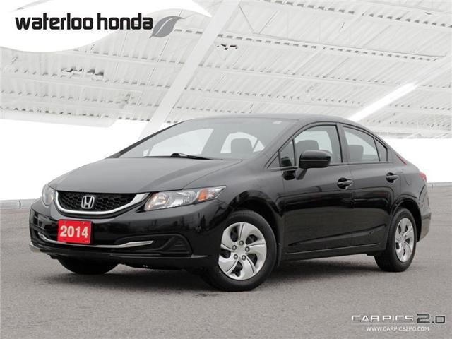 2014 Honda Civic LX (Stk: U3843) in Waterloo - Image 1 of 28