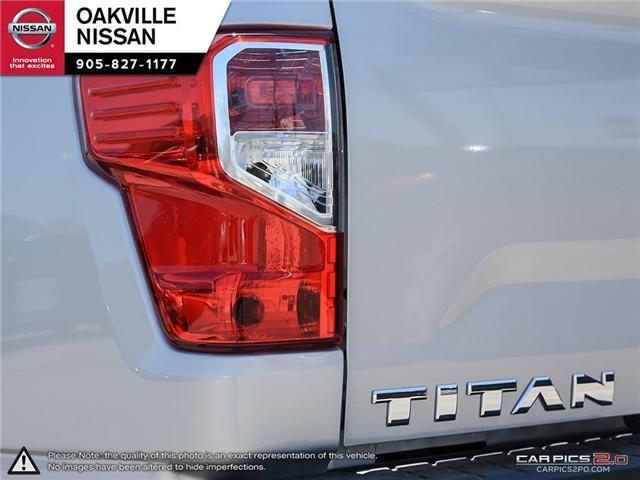 2017 Nissan Titan S (Stk: N171023A) in Oakville - Image 11 of 20