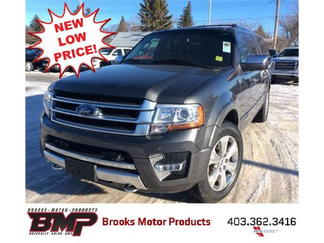 2015 Ford Expedition Max Platinum (Stk: 186395) in Brooks - Image 1 of 25