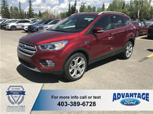 2018 Ford Escape Titanium (Stk: J-088) in Calgary - Image 1 of 6