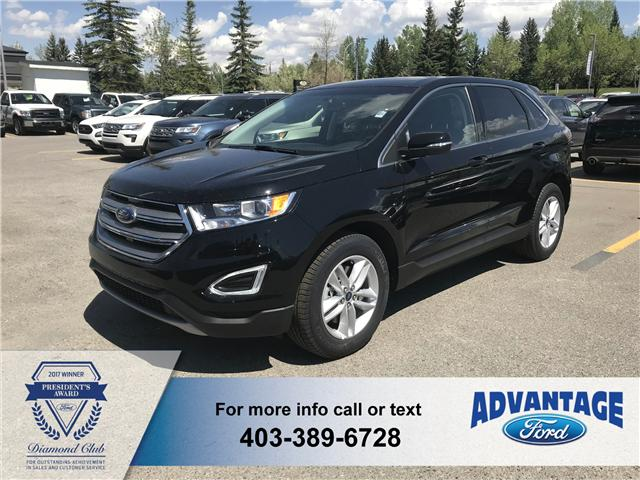 2018 Ford Edge SEL (Stk: J-768) in Calgary - Image 1 of 5
