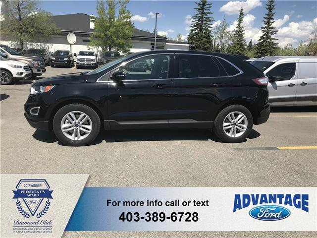 2018 Ford Edge SEL (Stk: J-768) in Calgary - Image 2 of 5
