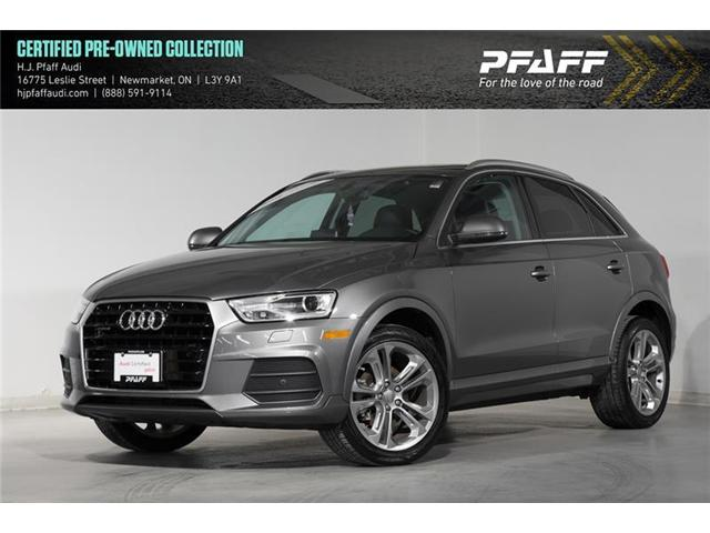 2017 Audi Q3 2.0T Progressiv (Stk: 52830) in Newmarket - Image 1 of 16