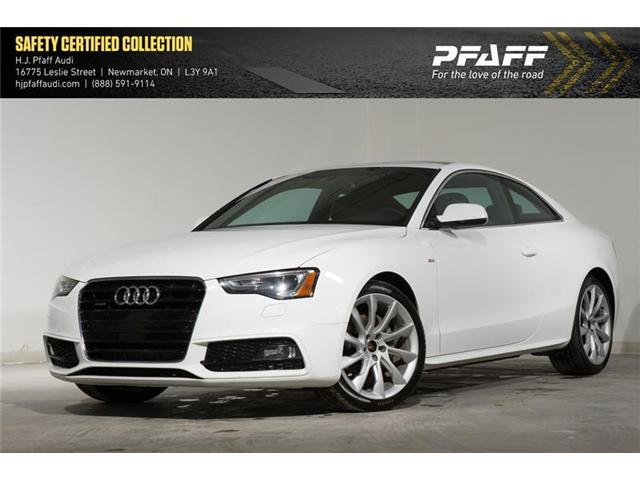 2014 Audi A5 2.0 Progressiv (Stk: 52715) in Newmarket - Image 1 of 16