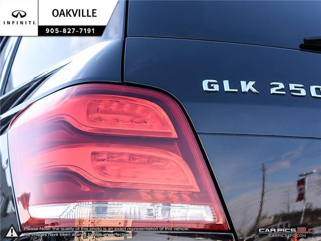 2014 Mercedes-Benz GLK-Class Base (Stk: Q17742A) in Oakville - Image 11 of 20