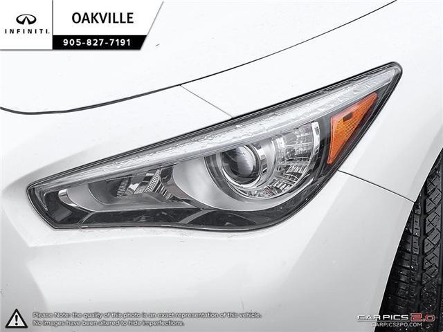 2015 Infiniti Q50 Base (Stk: Q17559A) in Oakville - Image 10 of 23
