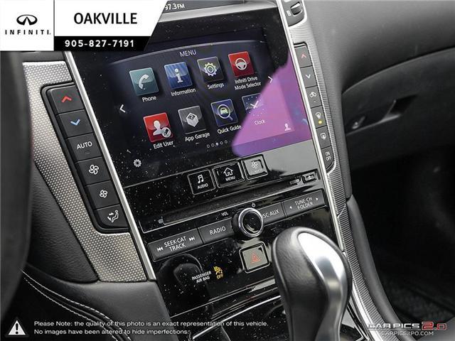 2015 Infiniti Q50 Base (Stk: Q17559A) in Oakville - Image 17 of 23