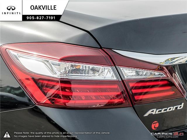 2016 Honda Accord EX-L (Stk: Q18118A) in Oakville - Image 10 of 19