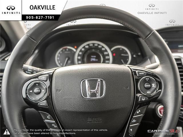 2016 Honda Accord EX-L (Stk: Q18118A) in Oakville - Image 12 of 19
