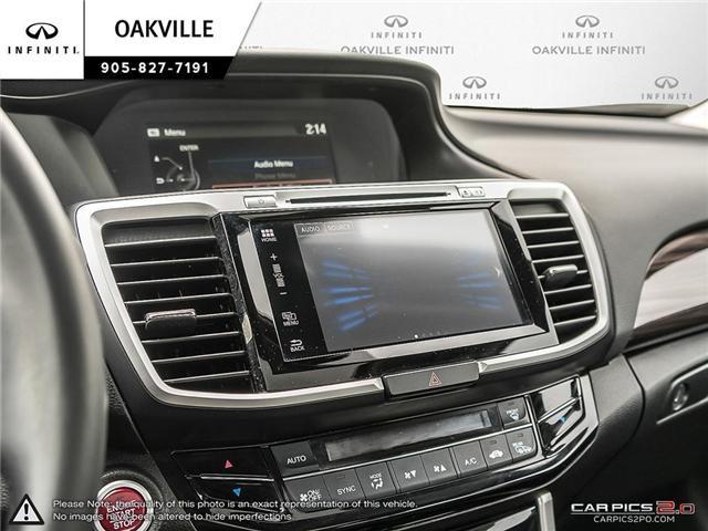2016 Honda Accord EX-L (Stk: Q18118A) in Oakville - Image 15 of 19