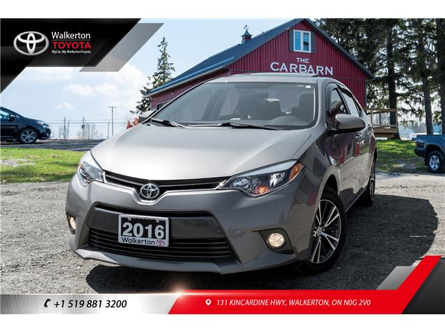 2016 Toyota Corolla LE (Stk: P8072A) in Walkerton - Image 1 of 20