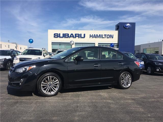 2016 Subaru Impreza 2.0i Limited Package (Stk: U1331) in Hamilton - Image 1 of 16