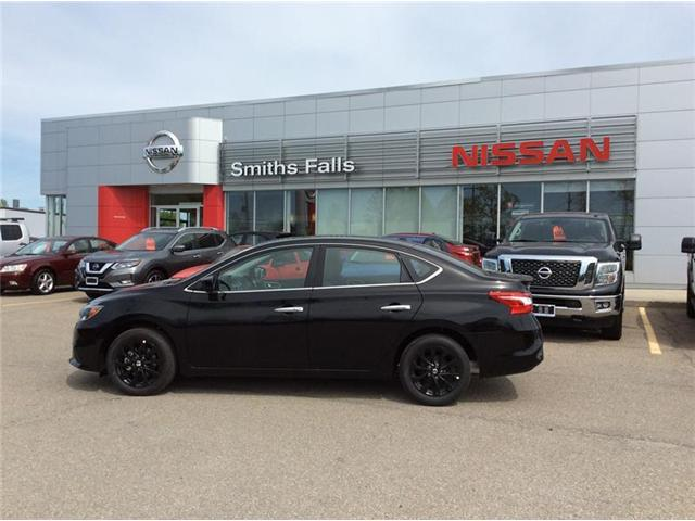 2018 Nissan Sentra 1.8 SV Midnight Edition (Stk: 18-197) in Smiths Falls - Image 1 of 13