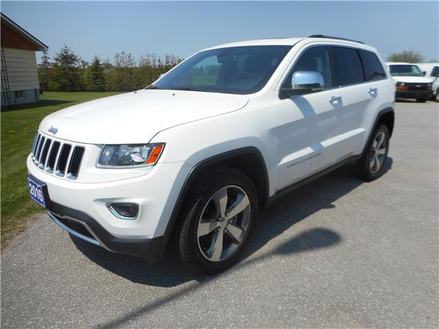 2016 Jeep Grand Cherokee Limited (Stk: NC 3575) in Cameron - Image 1 of 13