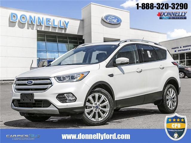2017 Ford Escape Titanium (Stk: DUR5730) in Ottawa - Image 1 of 28