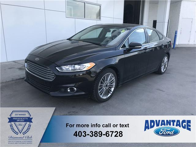 2013 Ford Fusion SE (Stk: J-1405A) in Calgary - Image 1 of 10