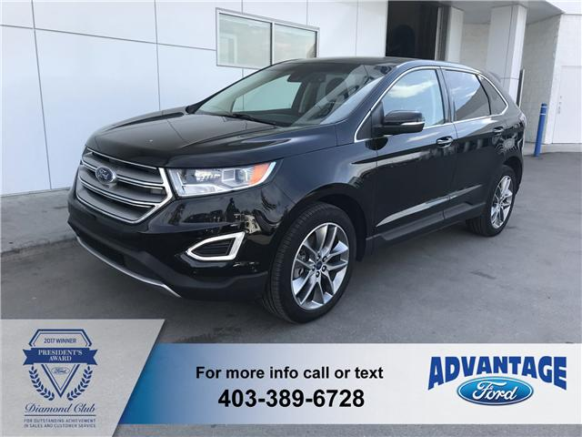 2016 Ford Edge Titanium (Stk: T22450) in Calgary - Image 1 of 10