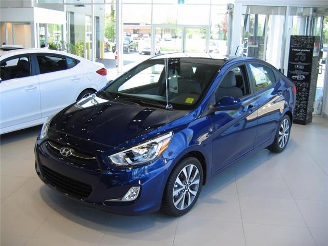 2017 Hyundai Accent  (Stk: R7001) in Brockville - Image 1 of 8