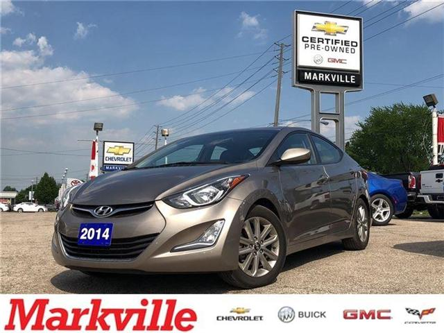 2014 Hyundai Elantra CERTIFIED PRE-OWNED-TRANS- 1 OWNER TRADE (Stk: 127814A) in Markham - Image 1 of 19