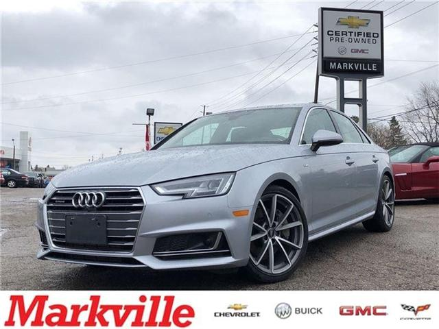 2017 Audi A4 2.0T TECHNIK-CERTIFIED PRE-OWNED-2 SETS OF TIRES! (Stk: 226202A) in Markham - Image 1 of 22