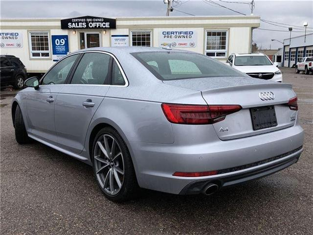 2017 Audi A4 2.0T TECHNIK-CERTIFIED PRE-OWNED-2 SETS OF TIRES! (Stk: 226202A) in Markham - Image 2 of 22