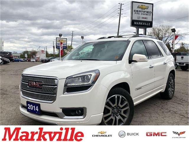 2014 GMC Acadia DENALI-GM CERTIFIED PRE-OWNED-1 OWNER (Stk: 141561A) in Markham - Image 1 of 24