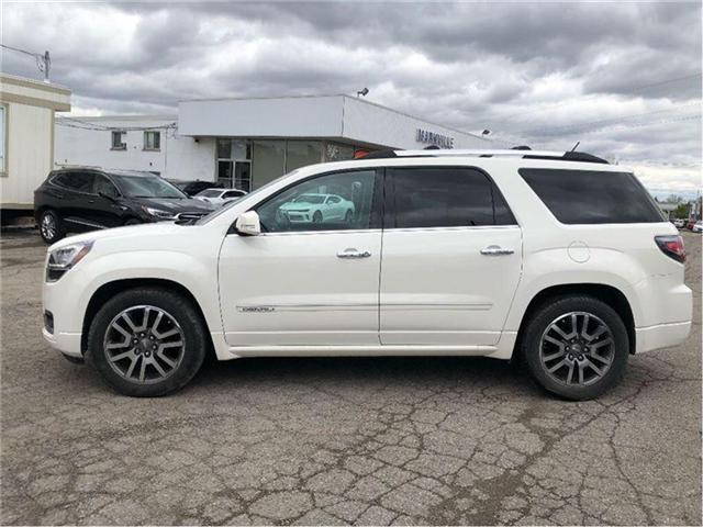 2014 GMC Acadia DENALI-GM CERTIFIED PRE-OWNED-1 OWNER (Stk: 141561A) in Markham - Image 2 of 24
