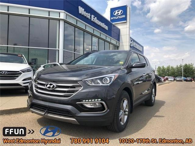 2018 Hyundai Santa Fe Sport  (Stk: E4026) in Edmonton - Image 1 of 22