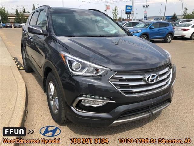 2018 Hyundai Santa Fe Sport  (Stk: E4026) in Edmonton - Image 4 of 22