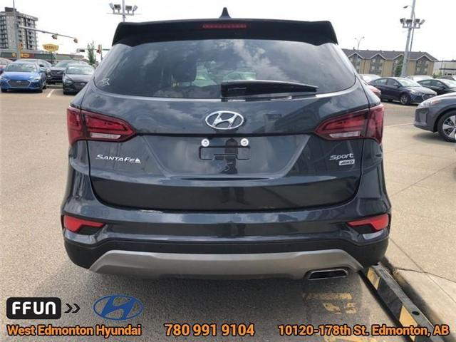 2018 Hyundai Santa Fe Sport  (Stk: E4026) in Edmonton - Image 6 of 22
