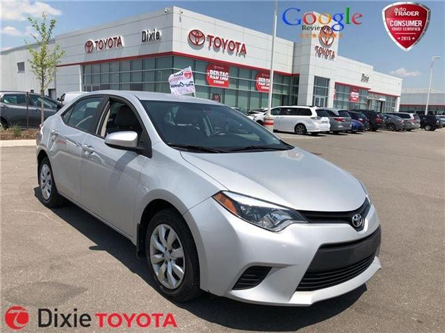 2014 Toyota Corolla  (Stk: D181828A) in Mississauga - Image 1 of 14
