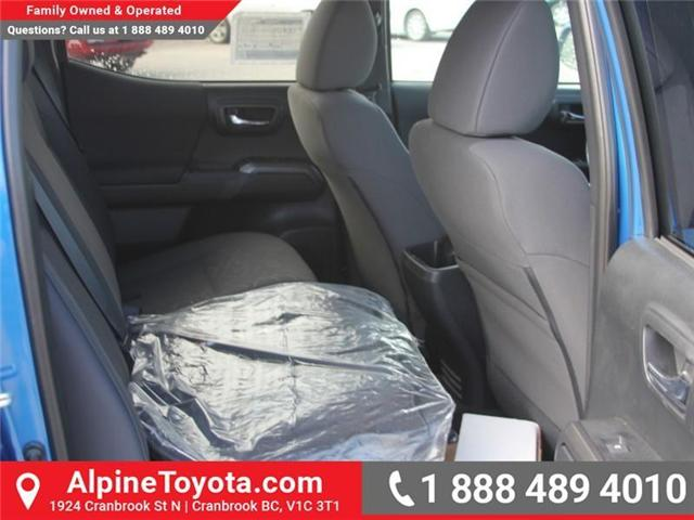 2018 Toyota Tacoma SR5 (Stk: X032777) in Cranbrook - Image 11 of 17