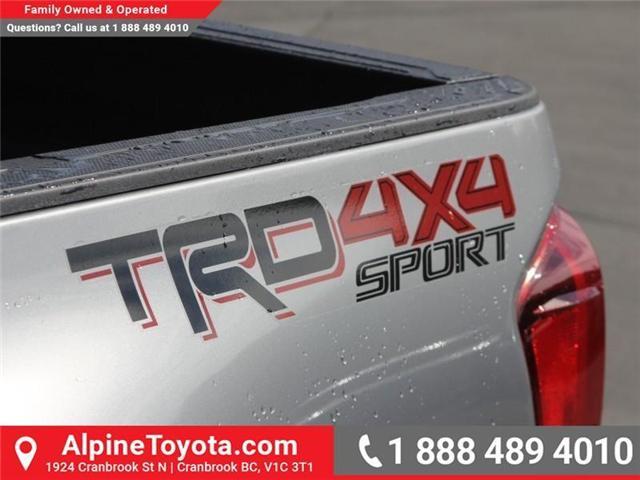 2018 Toyota Tacoma SR5 (Stk: X034373) in Cranbrook - Image 17 of 18