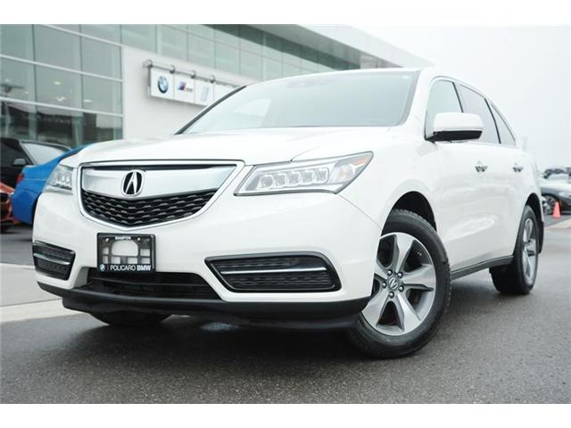 2016 Acura MDX Base (Stk: P503339) in Brampton - Image 1 of 13