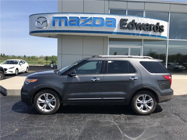 2015 Ford Explorer Limited (Stk: 21076) in Pembroke - Image 1 of 12