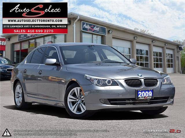 2009 BMW 528i  (Stk: 9LD1612) in Scarborough - Image 1 of 27