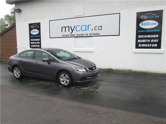 2014 Honda Civic LX (Stk: 180619) in North Bay - Image 2 of 13