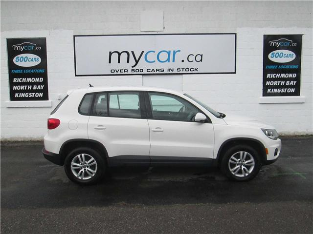 2014 Volkswagen Tiguan Trendline (Stk: 180009) in Richmond - Image 1 of 13